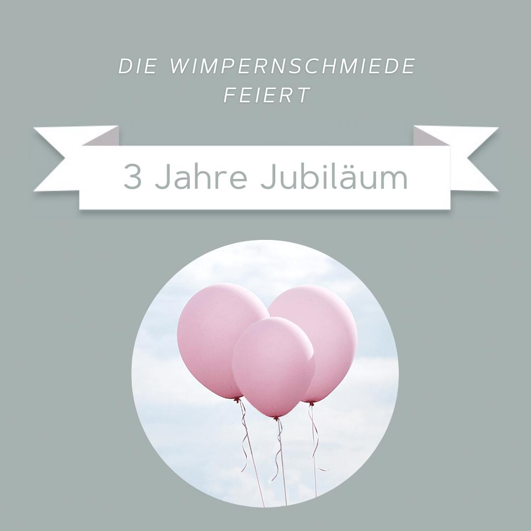 Jubiläum Wimpernlifting Studio Bamberg